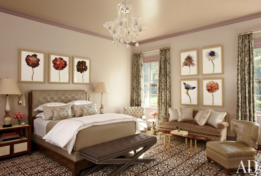Traditional Bedroom by S.R. Gambrel Inc. and Oliver Cope Architect in Old Westbury, New York
