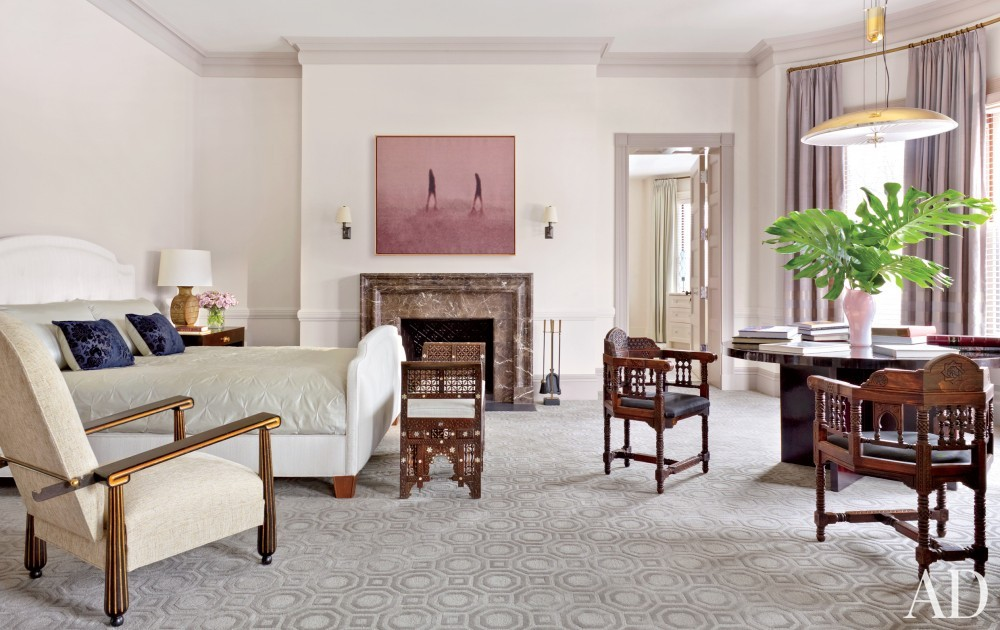 Traditional Bedroom by Thad Hayes Inc. and Dell Mitchell Architects in Boston, Massachusetts