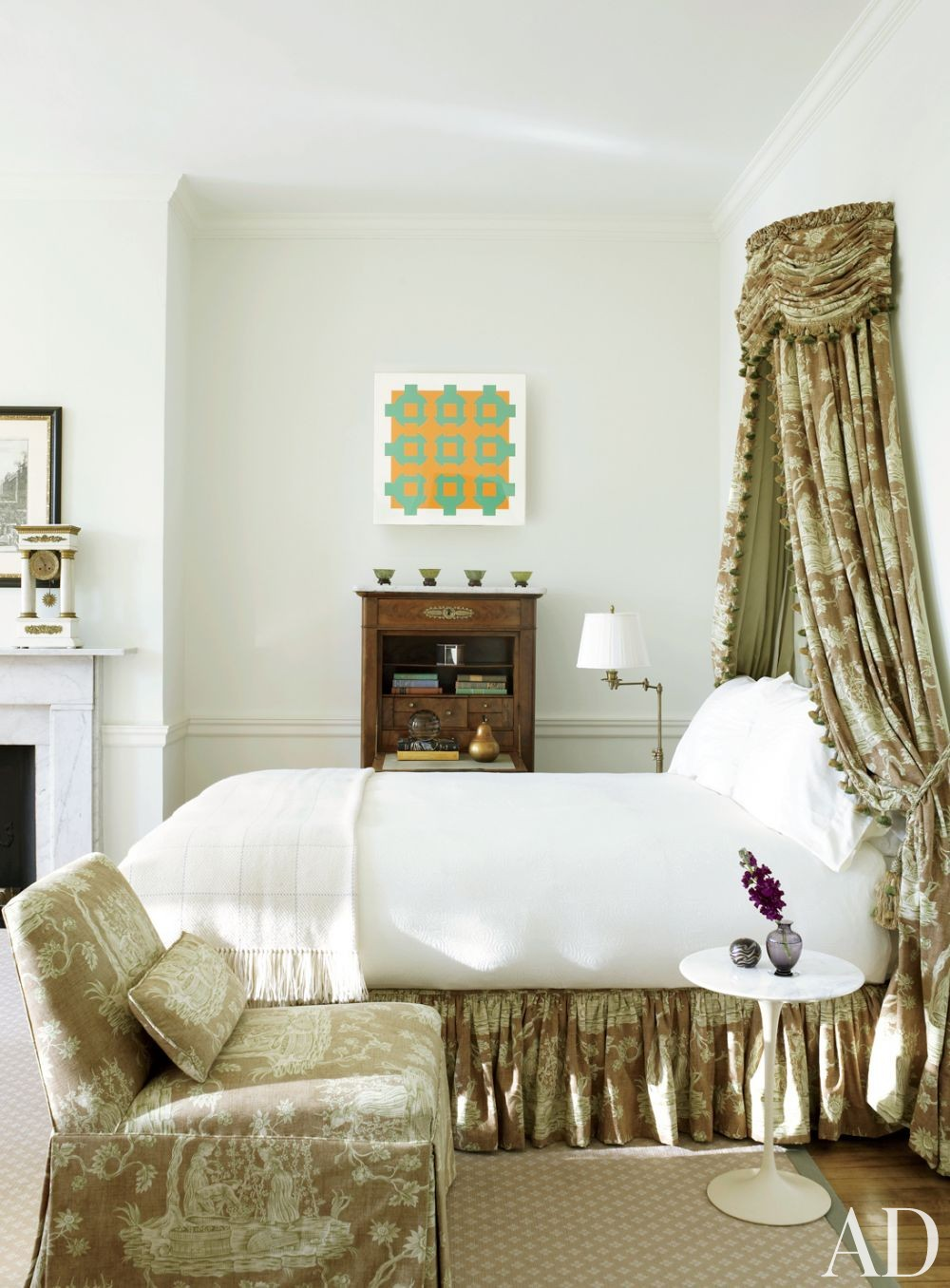 Traditional Bedroom by Thomas Jayne Studio in Philadelphia, Pennsylvania