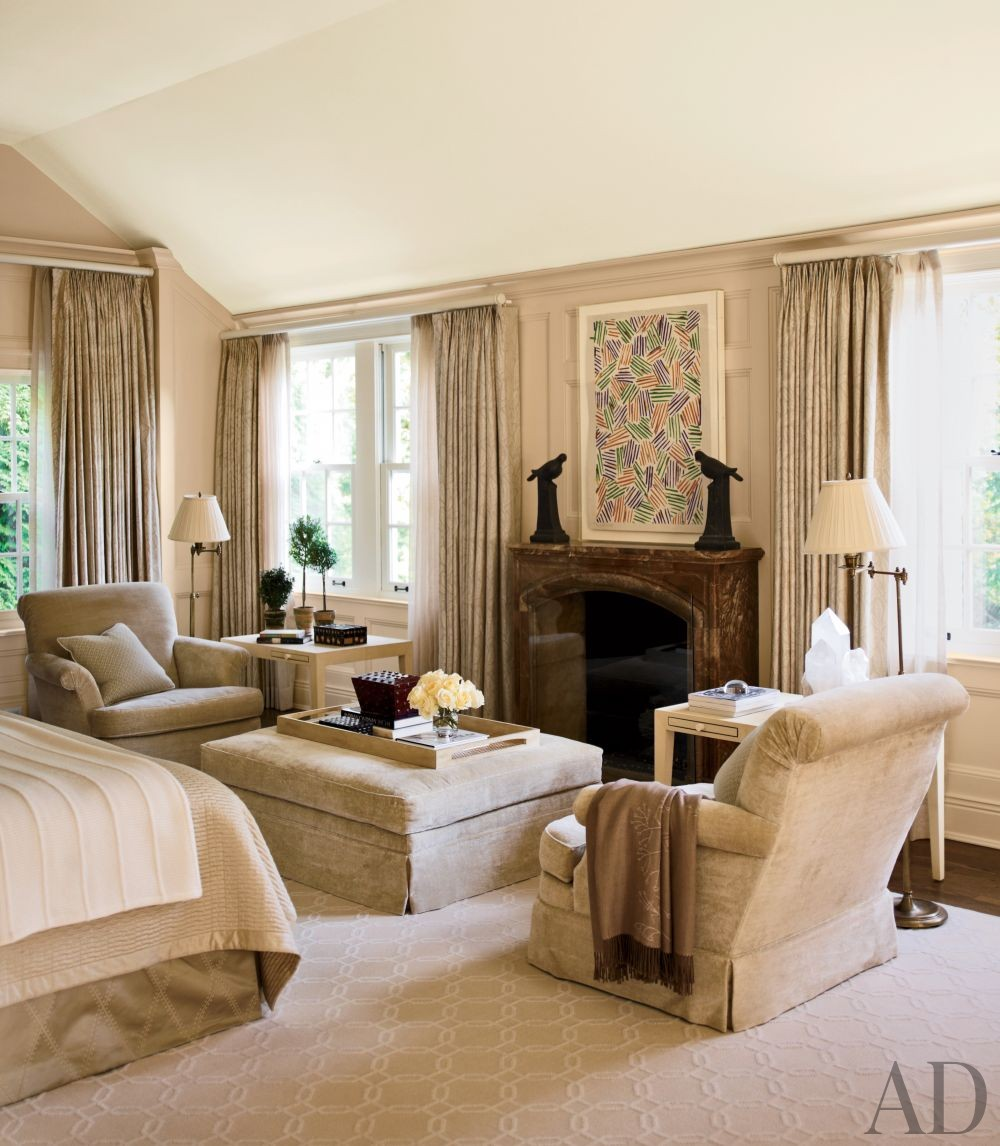 Traditional Bedroom by Timothy Corrigan Inc. in Lake Forest, Illinois