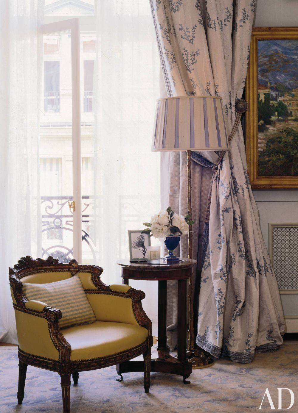 Traditional Bedroom by Timothy Corrigan and Timothy Corrigan in Paris, France