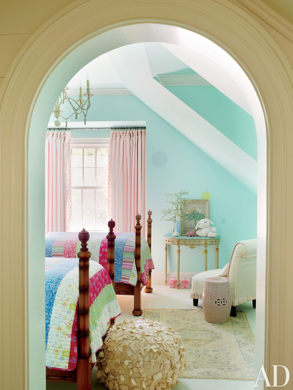 Traditional Children\'s Room by Suzanne Kasler Interiors and Spitzmiller & Norris in Walland, Tennessee