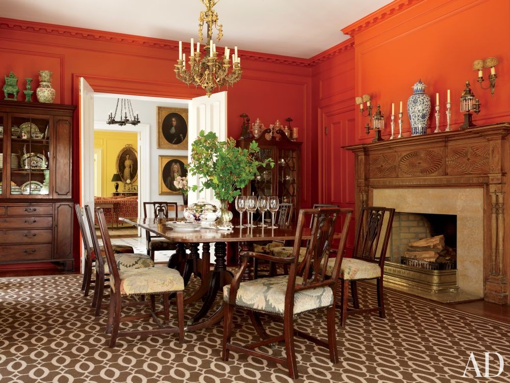 Traditional Dining Room by Alison Spear in Dutchess County, New York