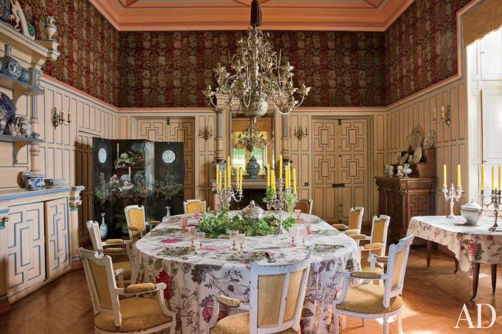 Traditional Dining Room in Auvergne, France