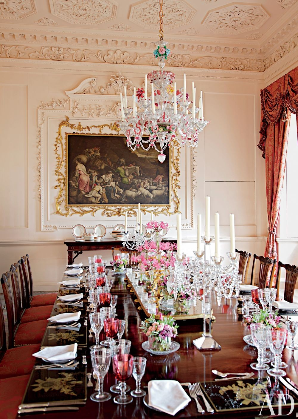 Traditional Dining Room in Ayrshire, Scotland