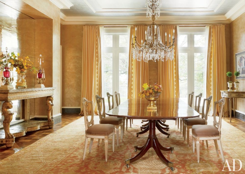 Traditional Dining Room by Bunny Williams Inc. and 3north in Richmond, Virginia