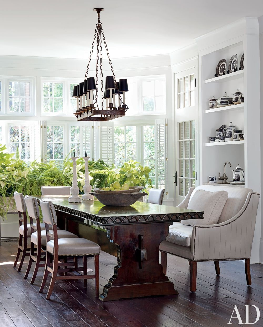 Most Popular Dining Room Chandelier: Traditional Dining Room By Darryl Carter Inc. By