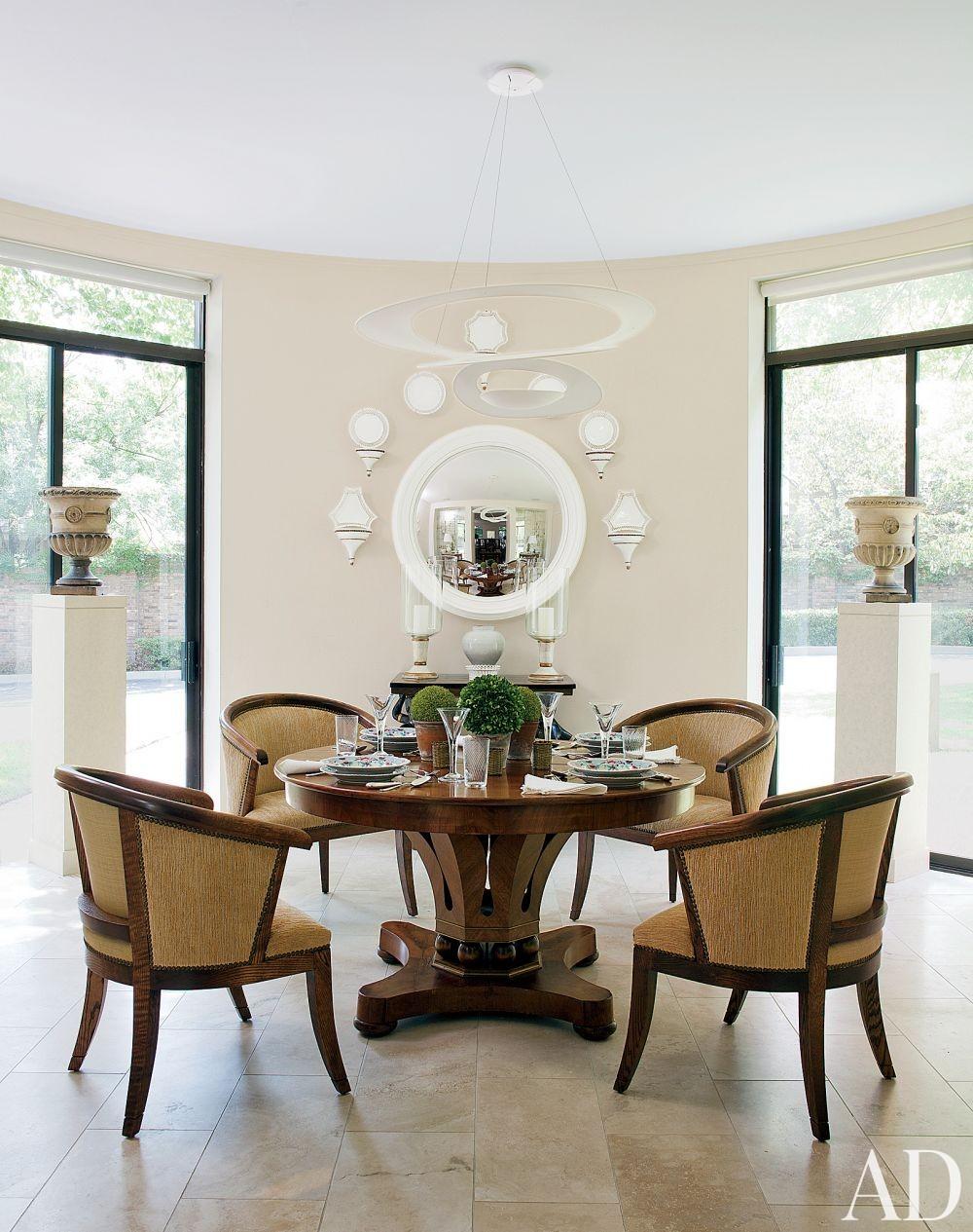 Traditional Dining Room by David Easton Inc. in Tulsa, Oklahoma