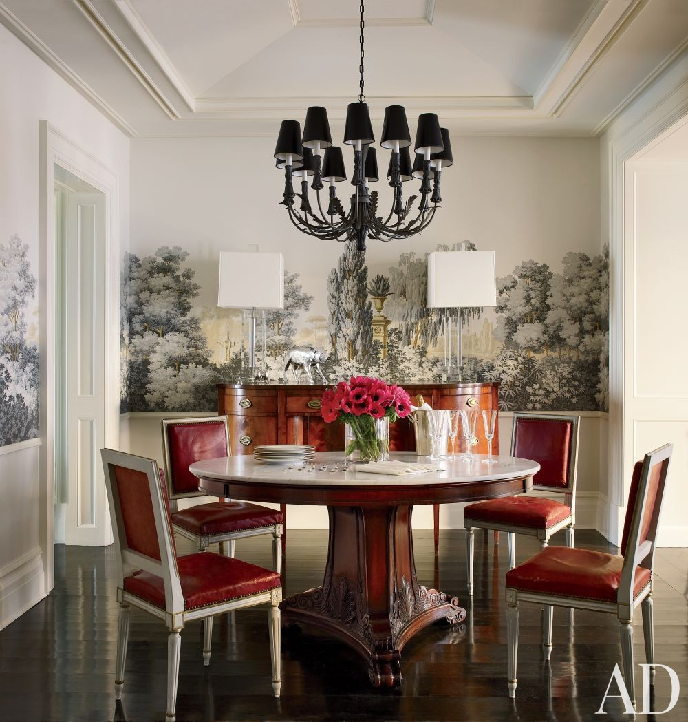 23 Best Images About Dining Room Black White Missoni: AD DesignFile - Home Decorating Photos