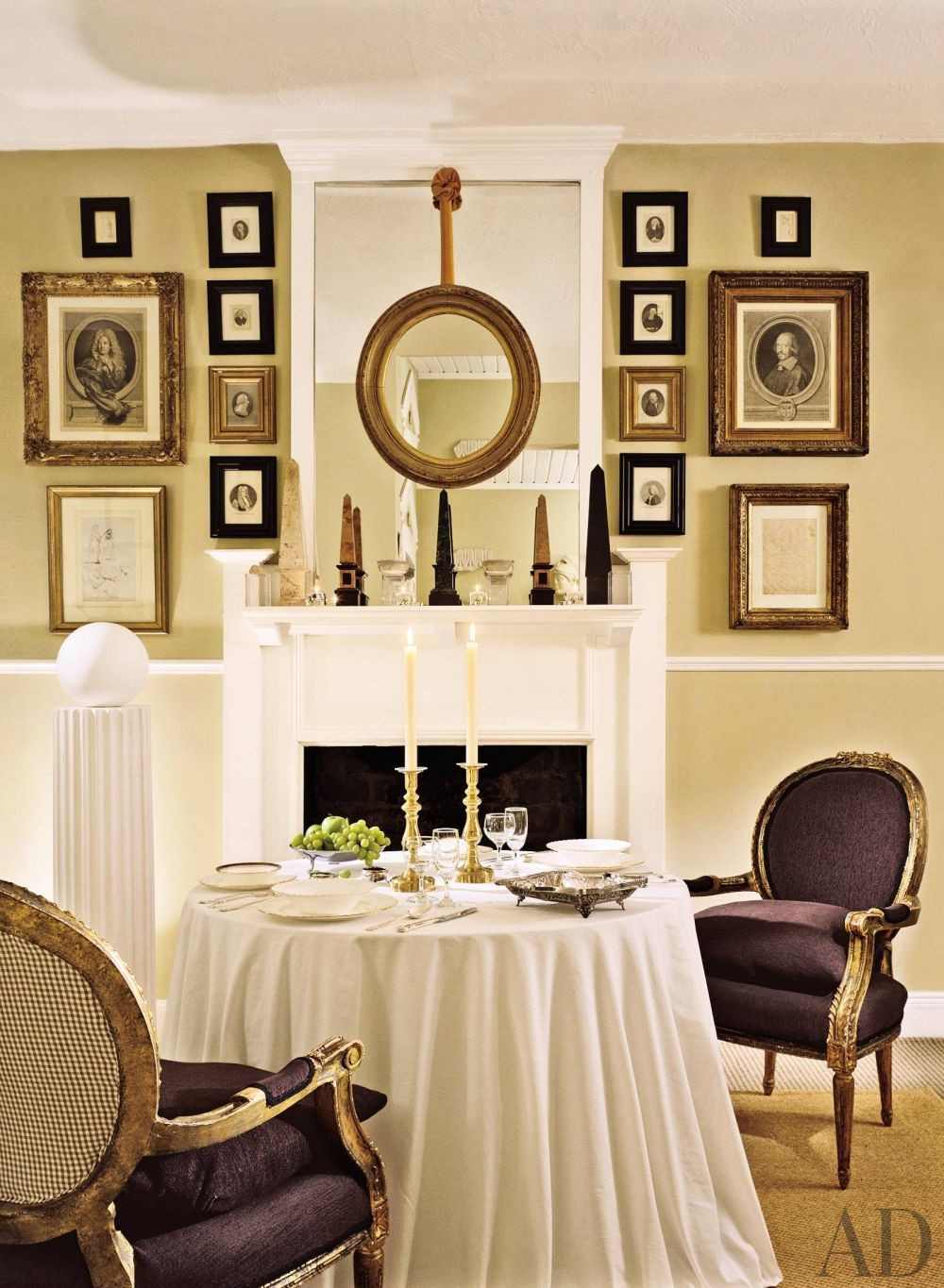 Traditional dining room by anthony ferrie and ronnie for Designer room glasgow