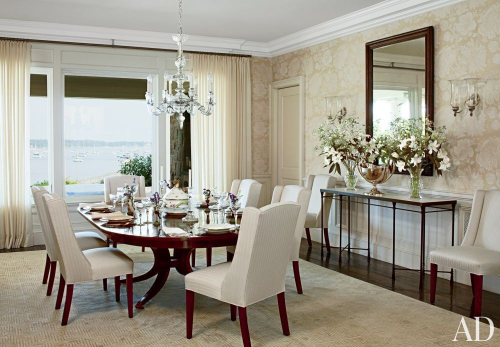 Traditional Dining Room by Gomez Associates Inc. and Kean Williams Giambertone in Long Island, New York