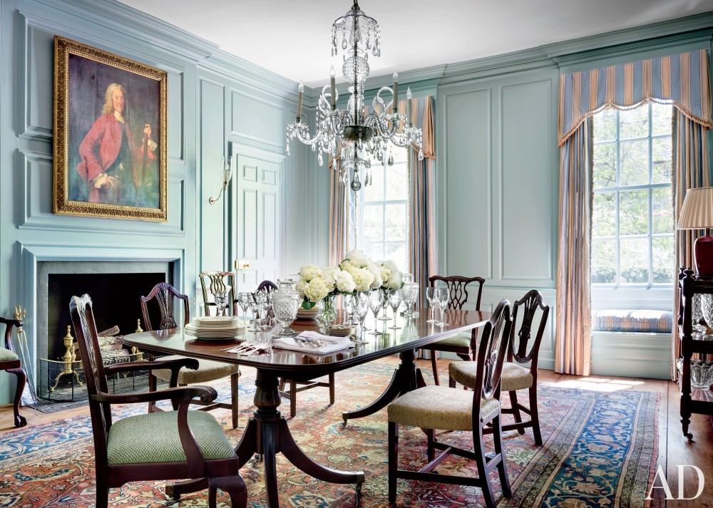 Traditional Dining Room by Gomez Associates Inc. in Washington, D.C.