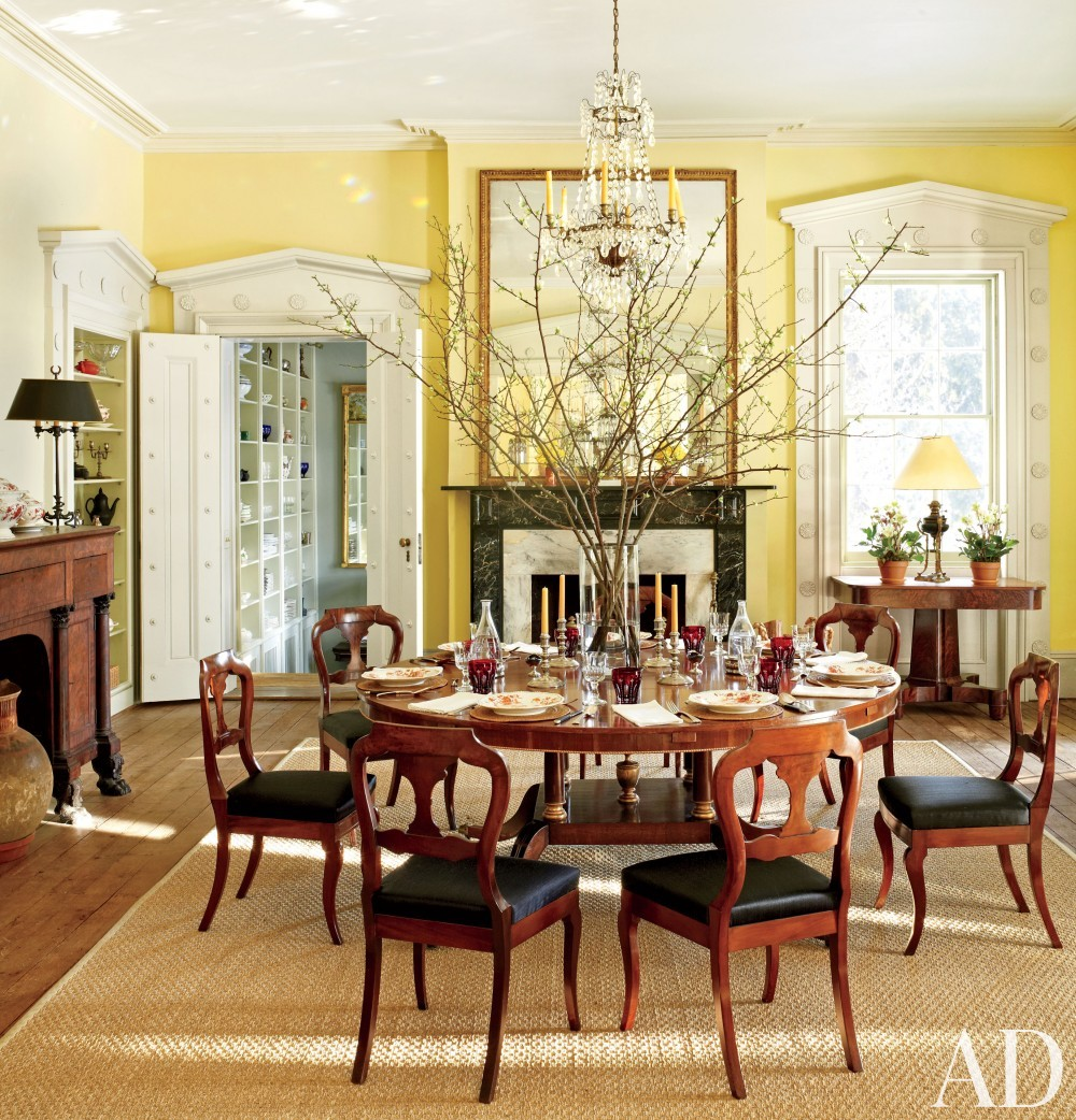 Traditional Dining Room by Hottenroth + Joseph Architects and Hottenroth + Joseph Architects in Livingston, New York