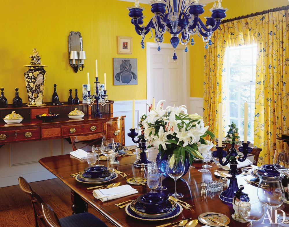 Traditional Dining Room in Hudson Valley, New York