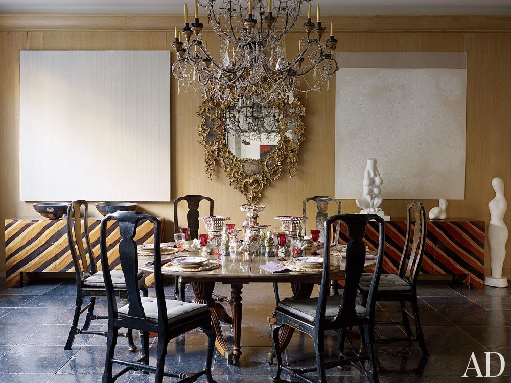 Traditional dining room by jacques grange by architectural - Jacques grange architecte d interieur ...