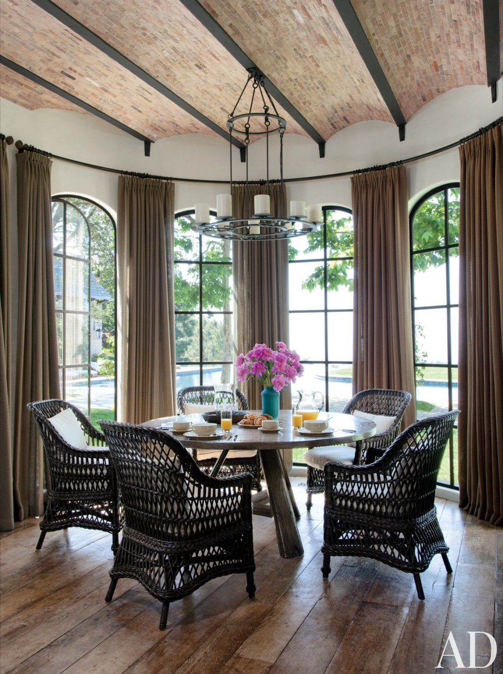 Traditional dining room by joan behnke associates inc