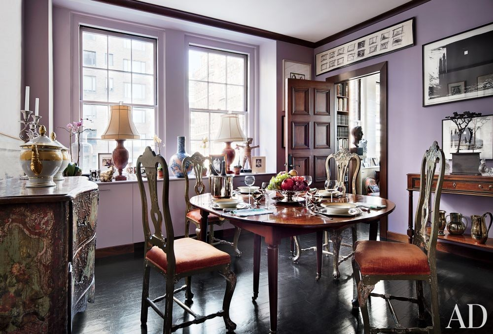 Traditional Dining Room by John Yunis Ltd. and Cicognani Kalla Architect in New York, New York