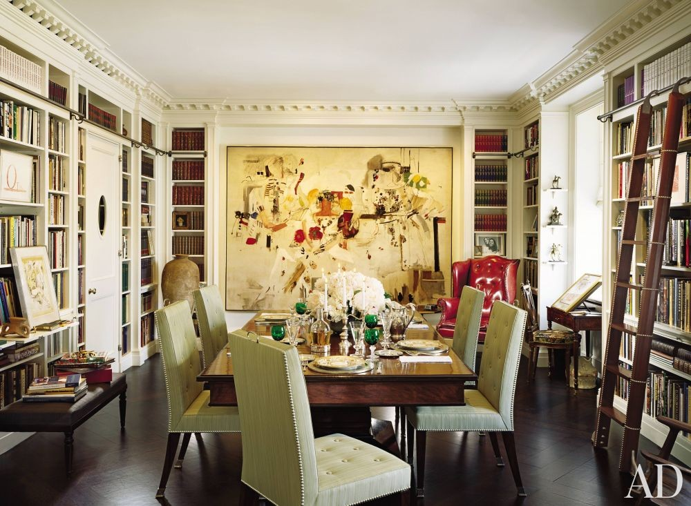 Traditional Dining Room By Mac Ii By Architectural Digest