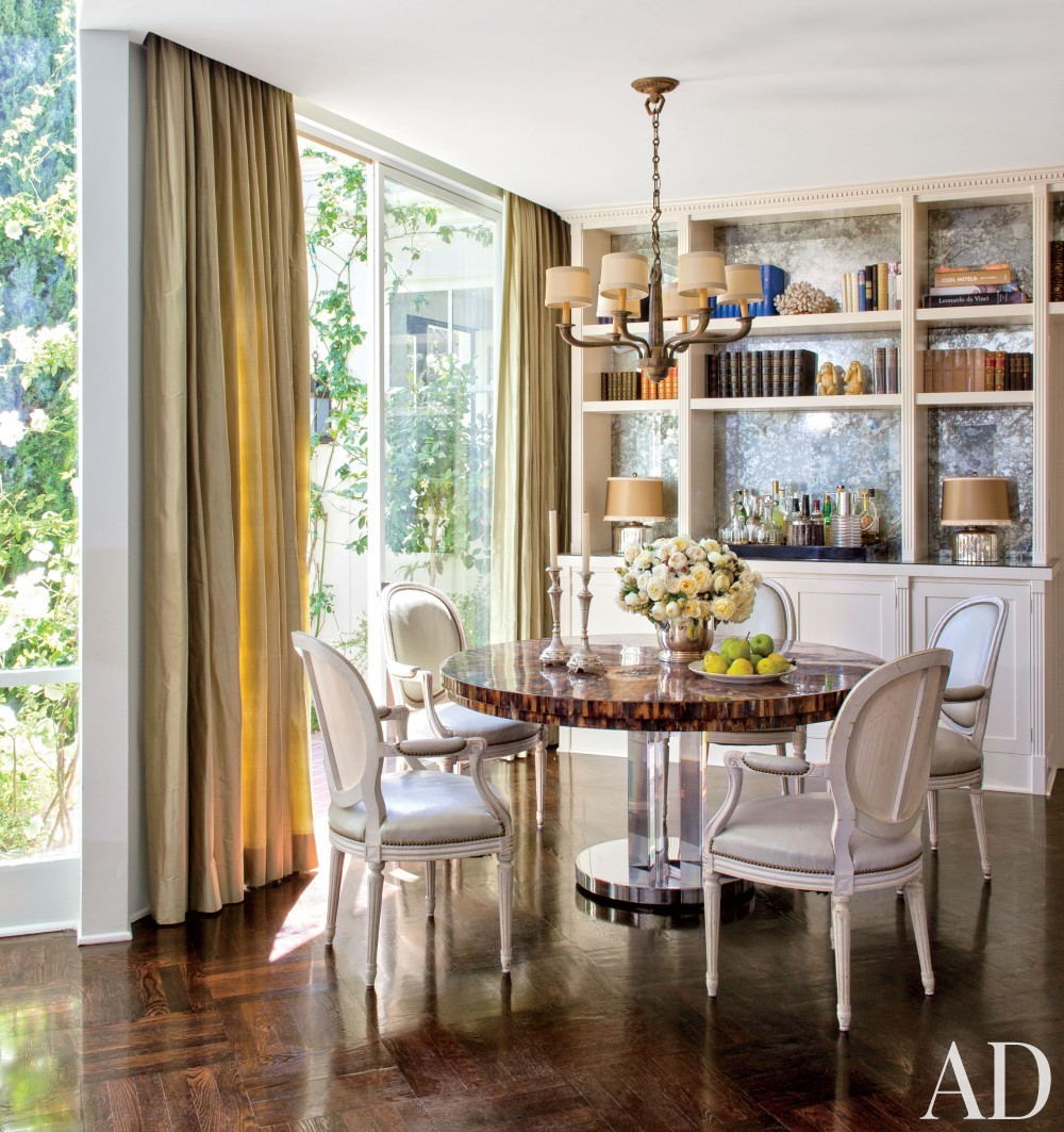 Traditional Dining Room by Madeline Stuart & Associates in Los Angeles, California