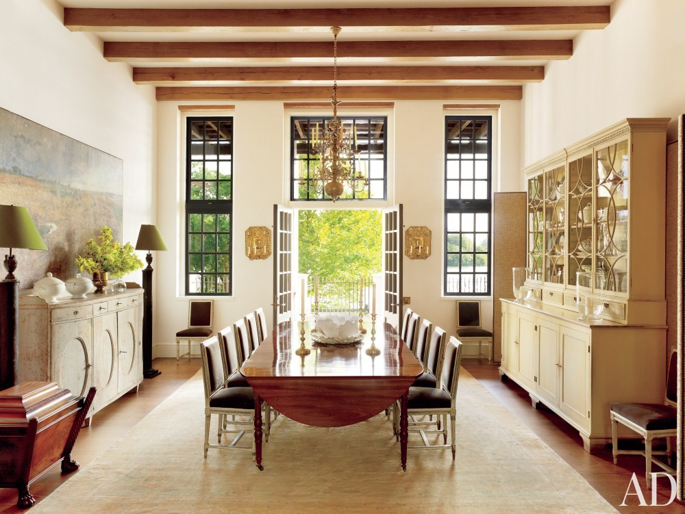 Traditional Dining Room by McAline Tankersley Architecture; McAlpine Booth & Ferrier Interiors and McAline Tankersley Architecture; McAlpine Booth & Ferrier Interiors in Baton Rouge, LA