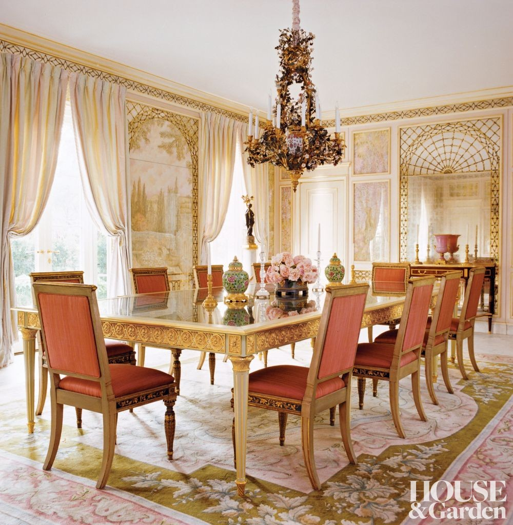 Traditional Dining Room: Traditional Dining Room By Michael Simon Interiors Inc. By