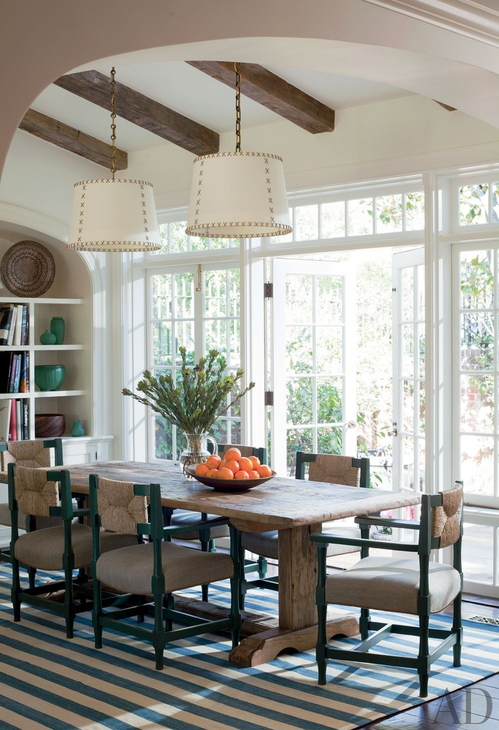 Traditional Dining Room by Peter Dunham Design