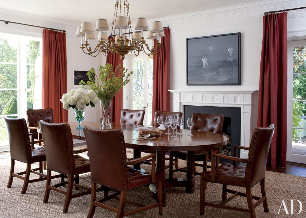 Traditional Dining Room by Peter Dunham Design in Beverly Hills, California