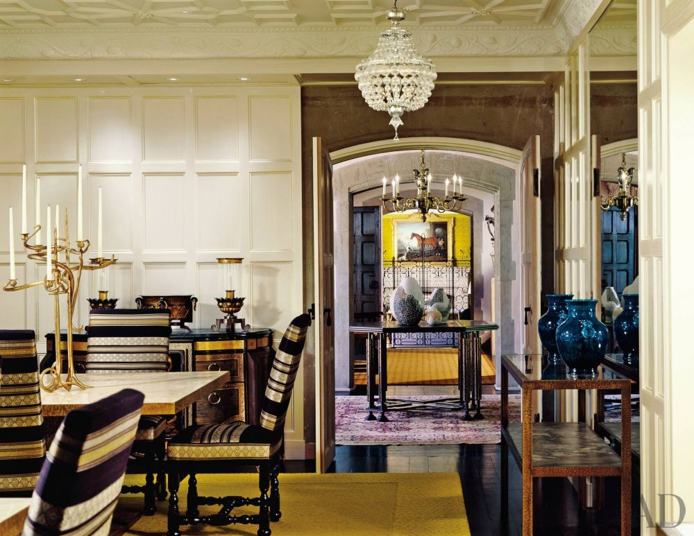 Traditional Dining Room By Peter Marino Architect