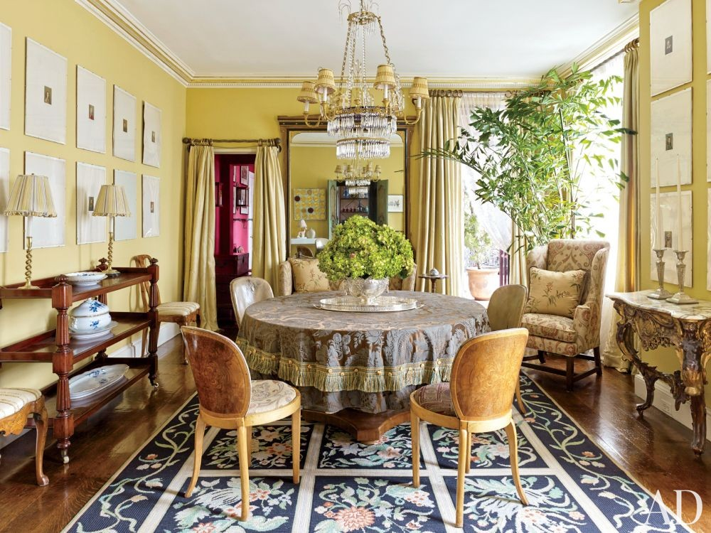 Traditional Dining Room by Rain Phillips in New York, New York
