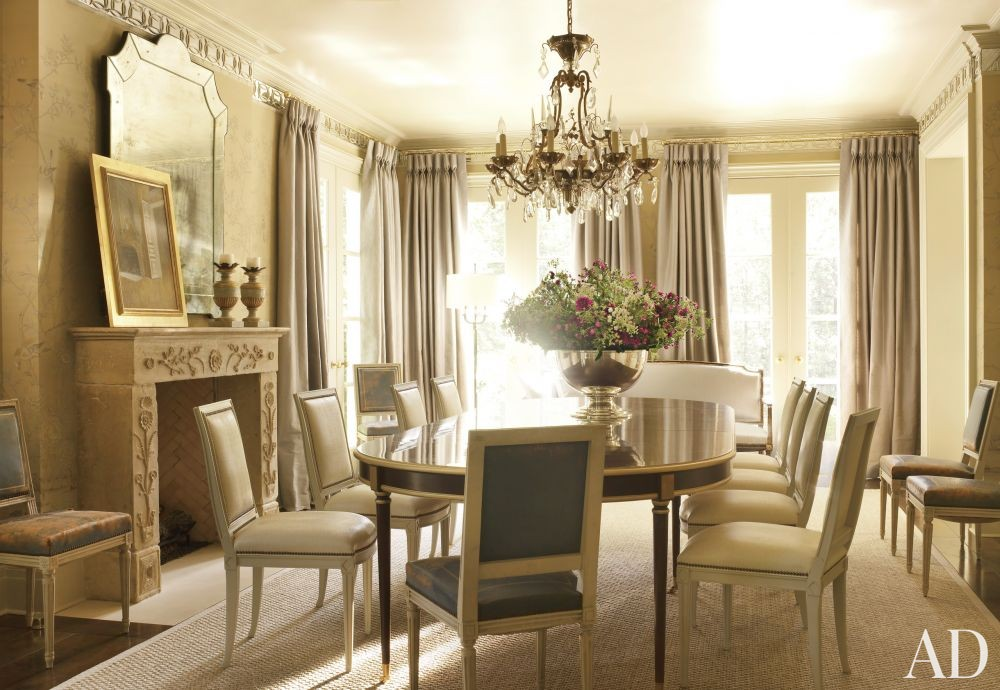 Traditional Dining Room By Suzanne Kasler Interiors By