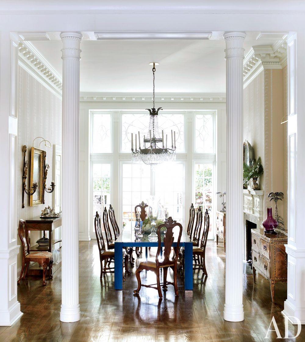 Traditional Dining Room by Thomas Jayne Studio in Philadelphia, Pennsylvania