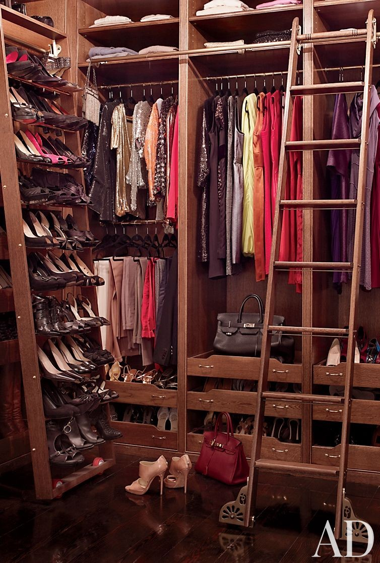 Traditional Dressing Room/Closet by David Flint Wood and MADE in New York, New York