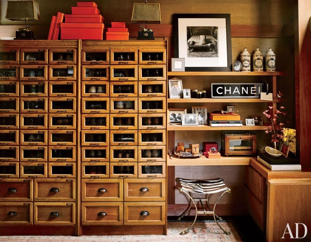 Traditional Dressing Room/Closet by Ken Fulk in San Francisco, California
