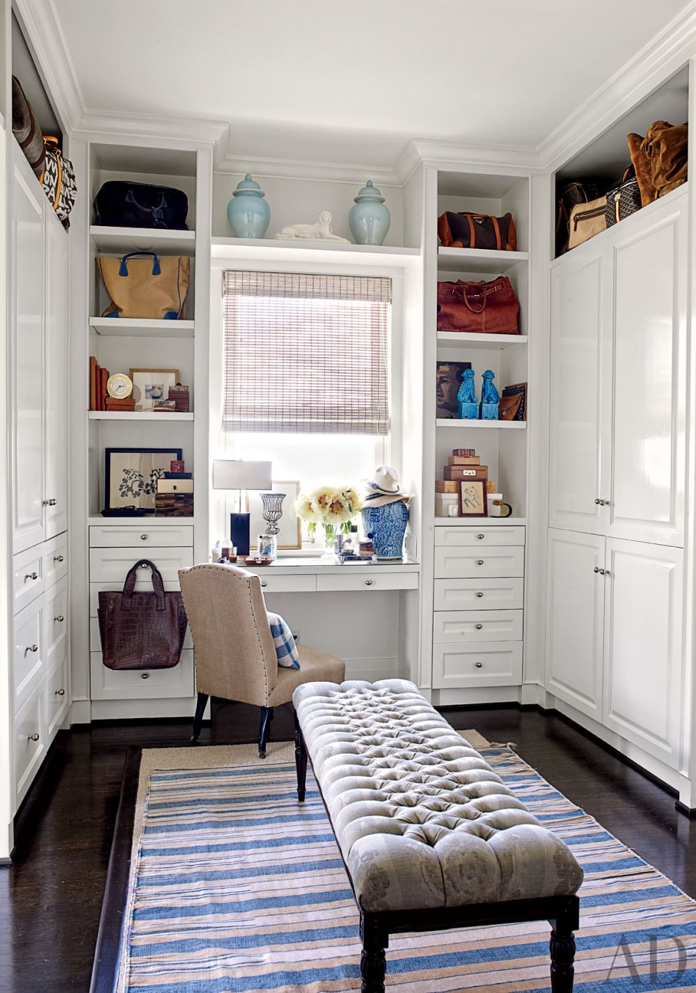 Traditional Dressing Room/Closet in Los Angeles, California