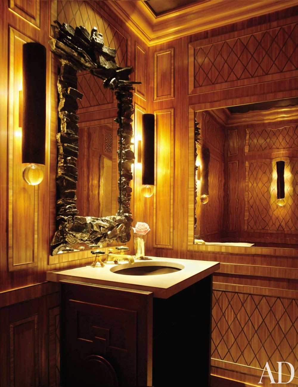 Traditional Bathroom by Michael S. Smith Inc. and Ferguson & Shamamian Architects in New York City