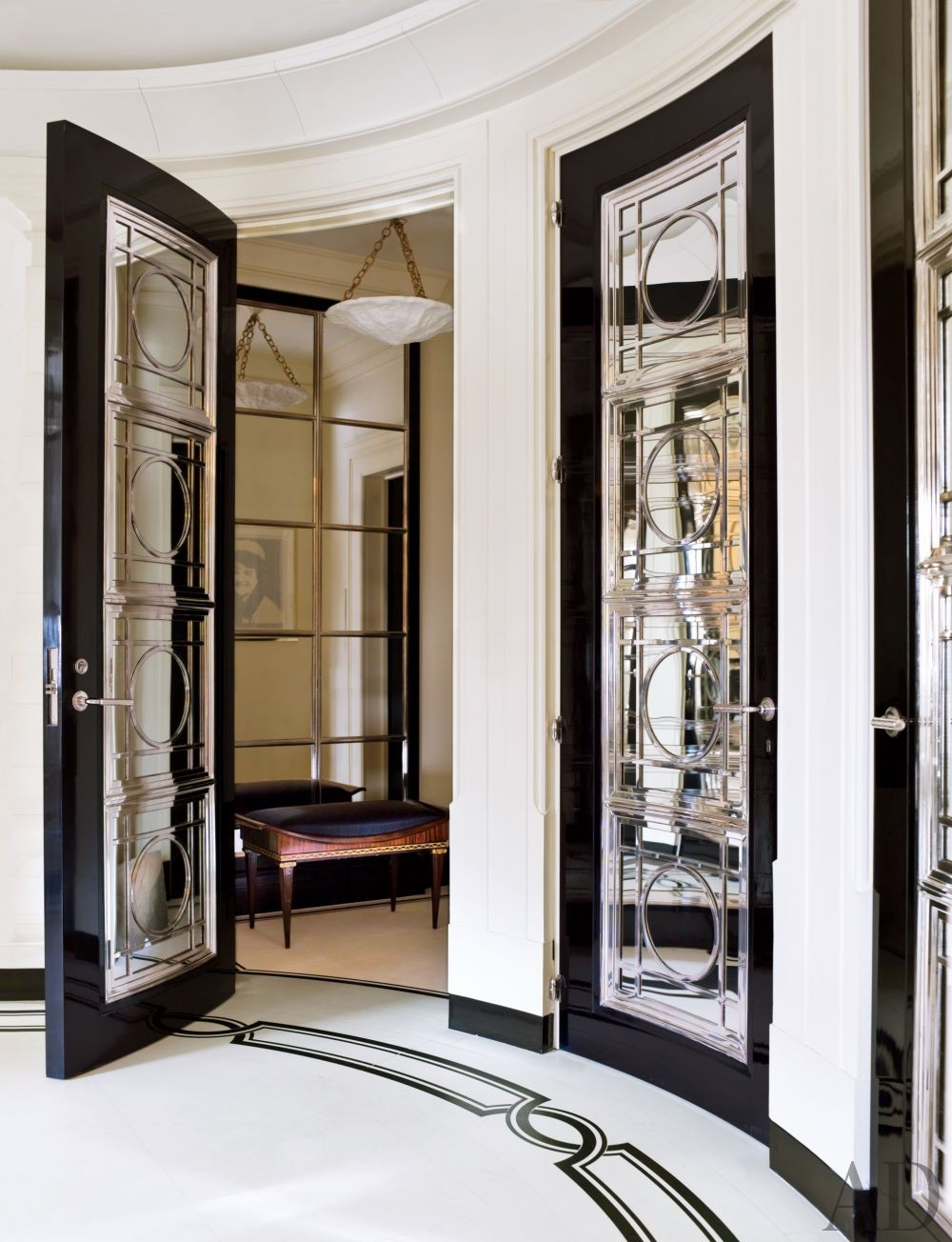 Traditional Entrance Hall by David Kleinberg Design Associates and David Kleinberg Design Associates in New York, New York