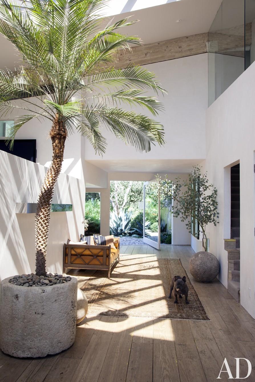 Traditional Entrance Hall by Estee Stanley Interior Design in Malibu, California