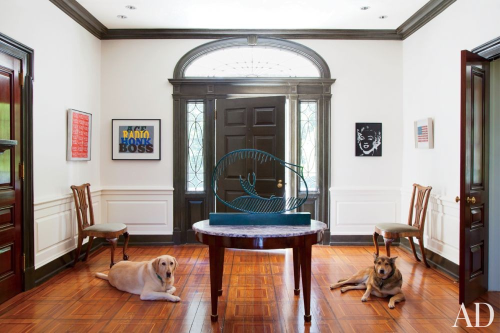 Traditional Entrance Hall by Jayne Design Studio Inc. in Philadelphia