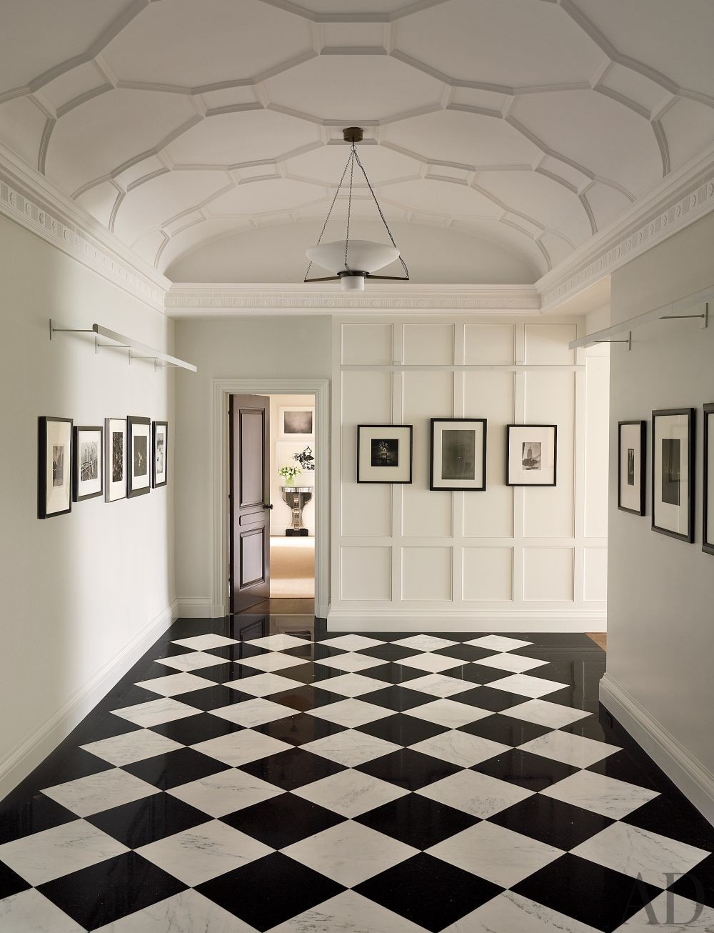 Traditional Entrance Hall by Shelton, Mindel & Associates in New York, New York