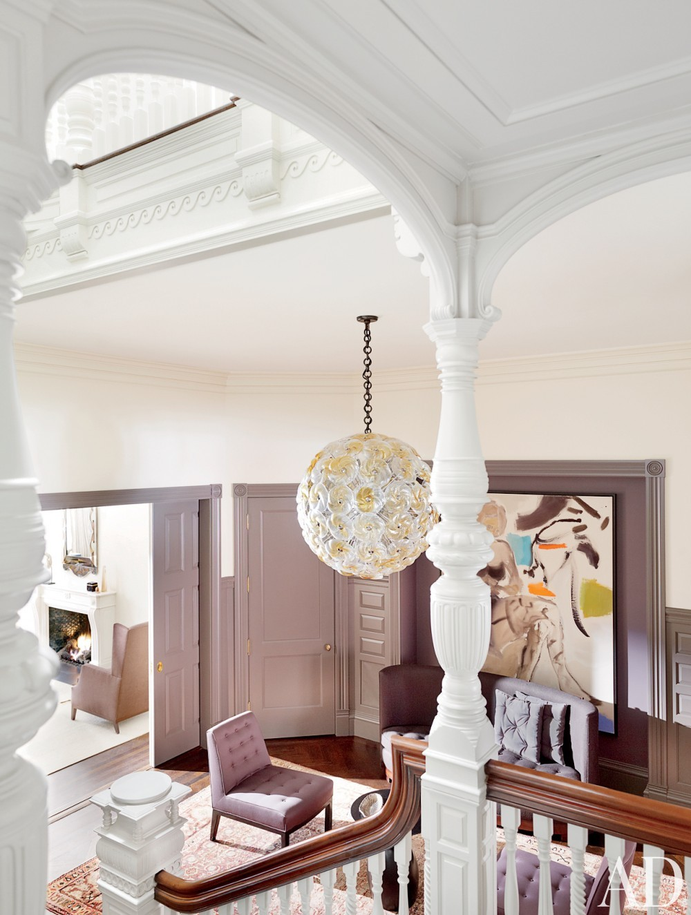 Traditional Entrance Hall by Thad Hayes Inc. and Dell Mitchell Architects in Boston, Massachusetts