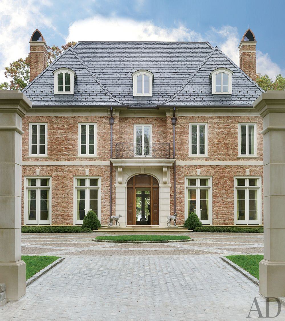 Traditional exterior by bunny williams inc by for Architectural digest home plans