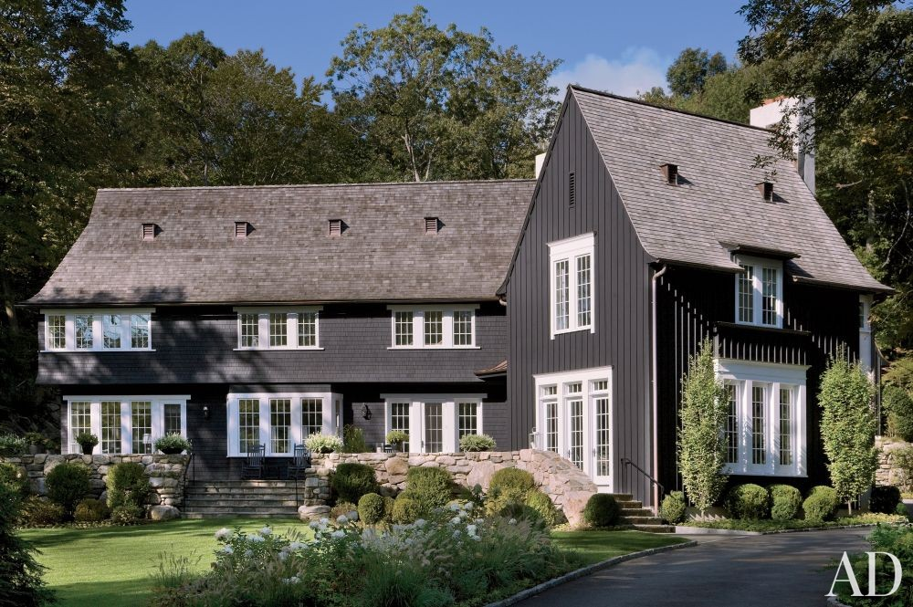 Traditional Exterior by Mark Hampton LLC and Ike Kligerman Barkley Architects in Fairfield County, Connecticut