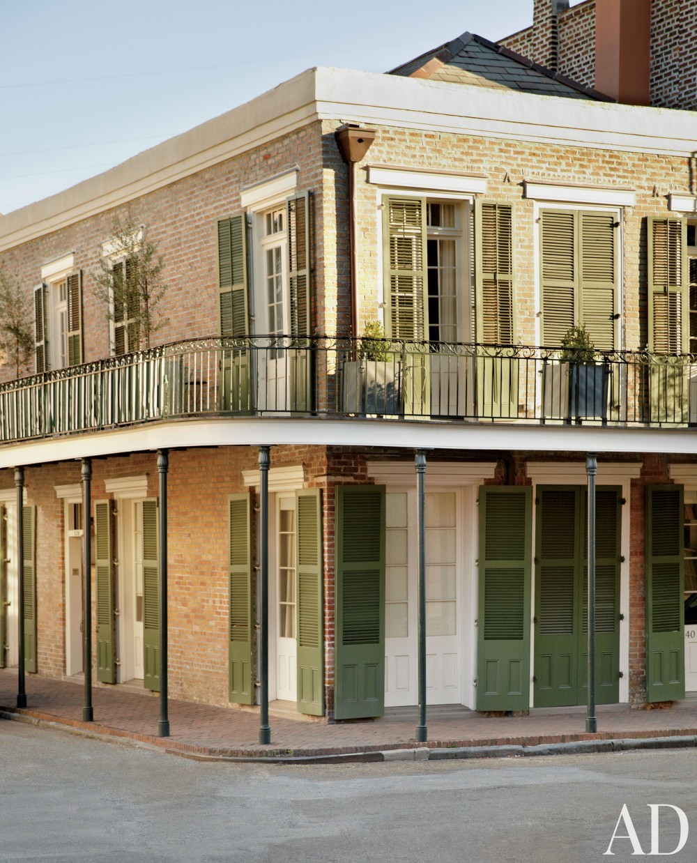 Traditional Exterior by Nicky Haslam in New Orleans, LA