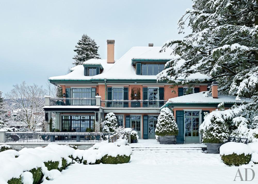 Traditional Exterior by S. R. Gambrel Inc. and Mathis Meier Architekten in Zurich, Switzerland