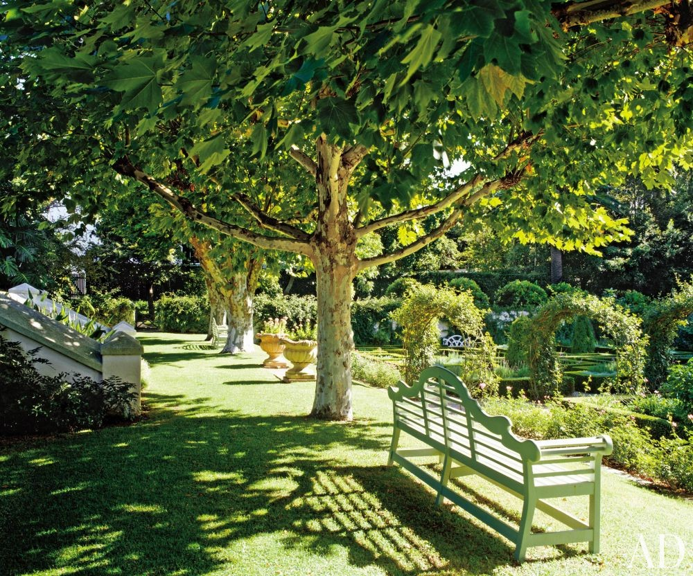 Traditional garden by graham viney by architectural digest for Garden designs south africa