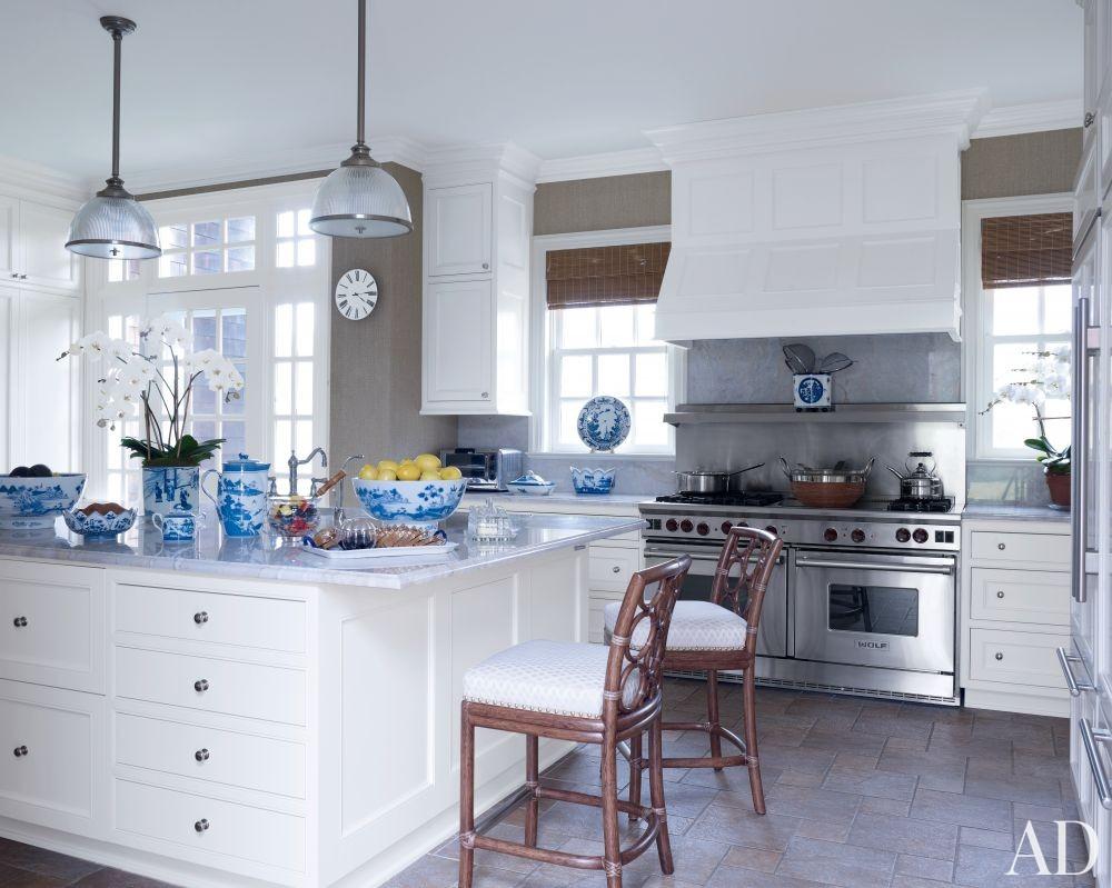 Traditional Kitchen by Alex Papachristidis in Bridgehampton, New York