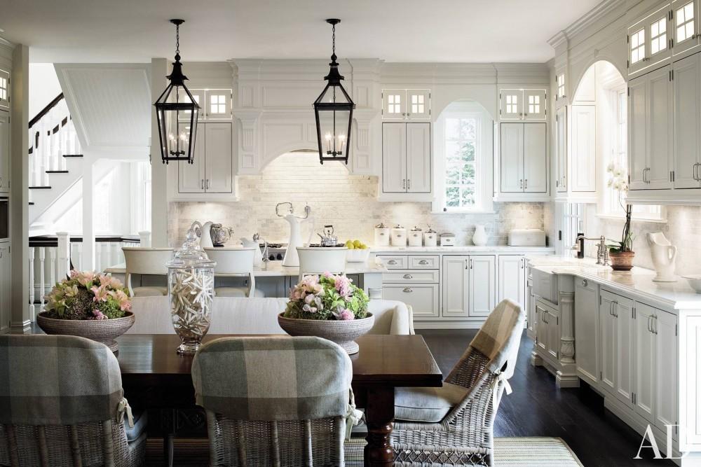 Traditional Kitchen by Alexa Hampton in Bridgehampton, NY