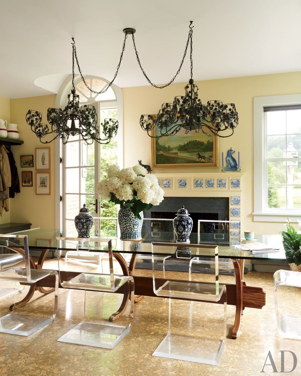 Traditional Kitchen by Alison Spear in Dutchess County, New York