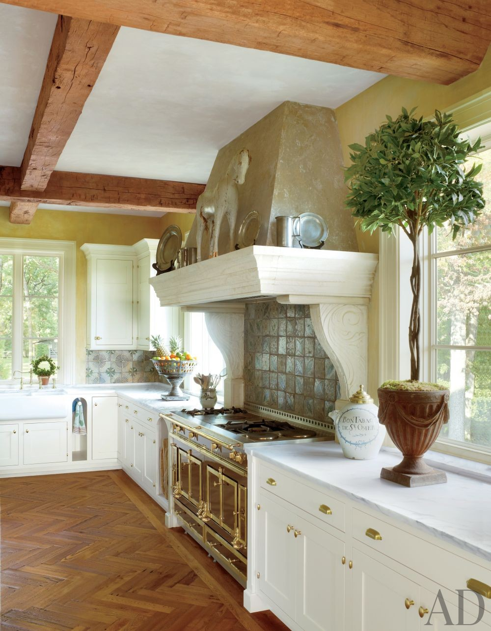 Traditional Kitchen by Bunny Williams Inc. and 3north in Richmond, Virginia