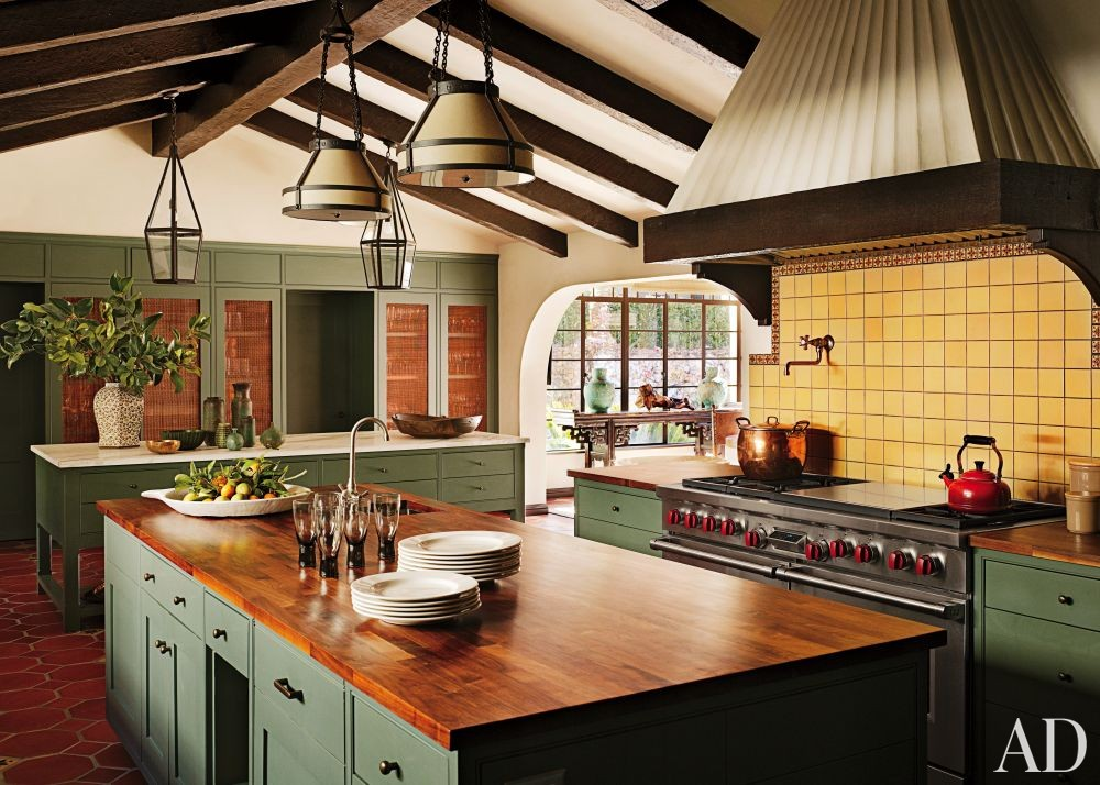 Traditional Kitchen by Commune in Los Angeles, California